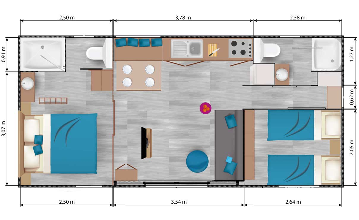 Plan-Interieur-mobil-luxe